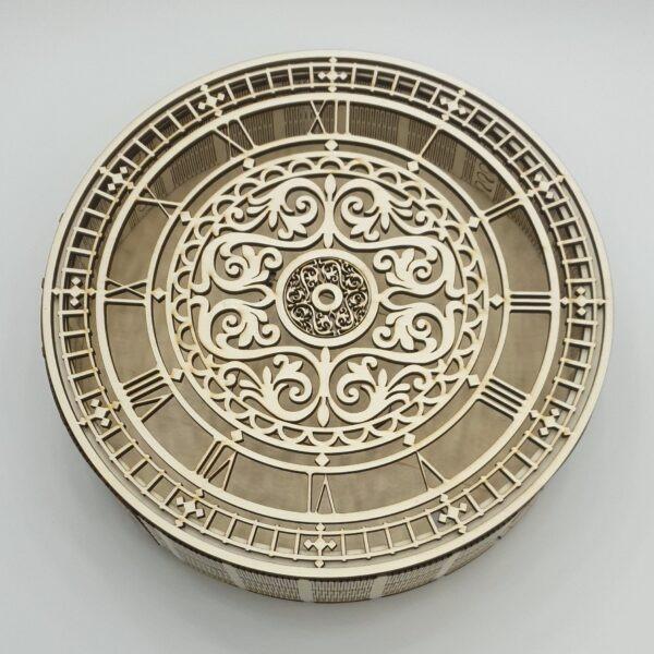 Ceas pentru licheni cu cifre romane