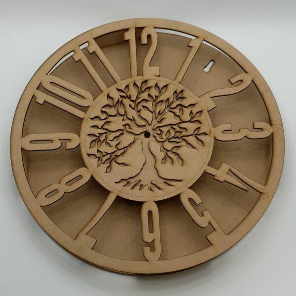 Ceas pentru licheni cu copacul vietii